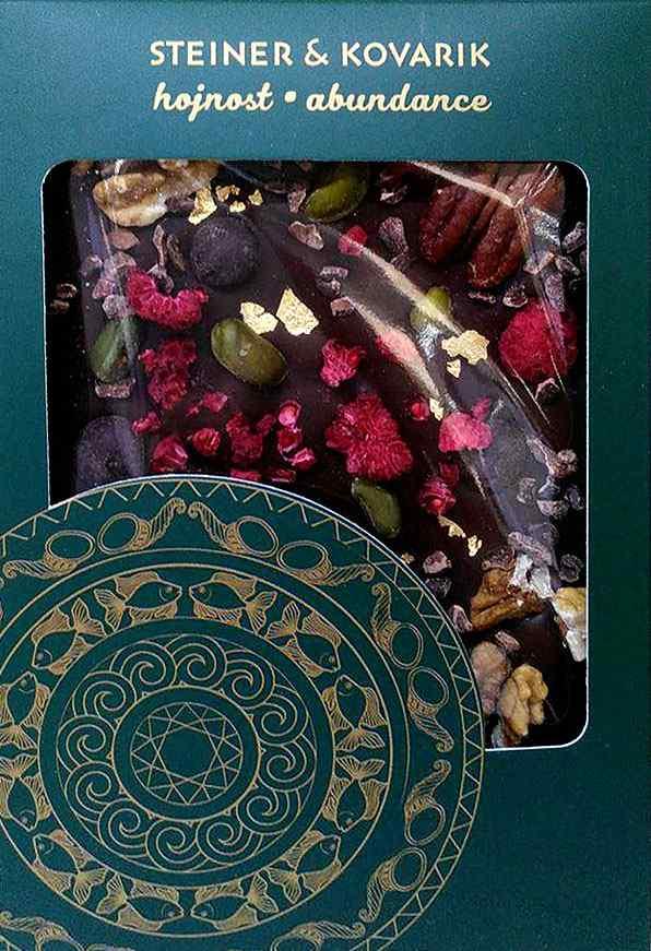 Reklamní čokoláda - mandala Hojnost