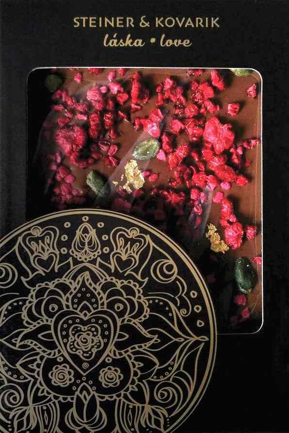 Reklamní čokoláda - mandala Láska