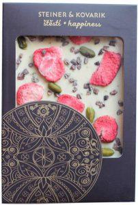 Reklamní čokoláda - mandala Štěstí
