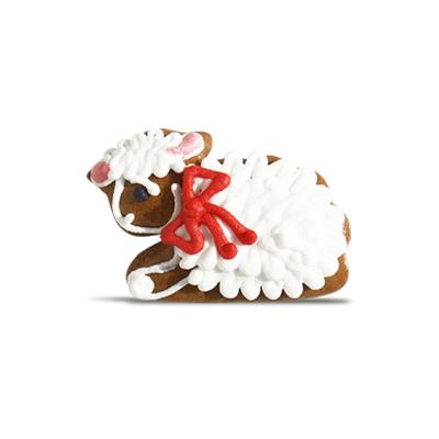 velikonoční medový perníček - ovečka