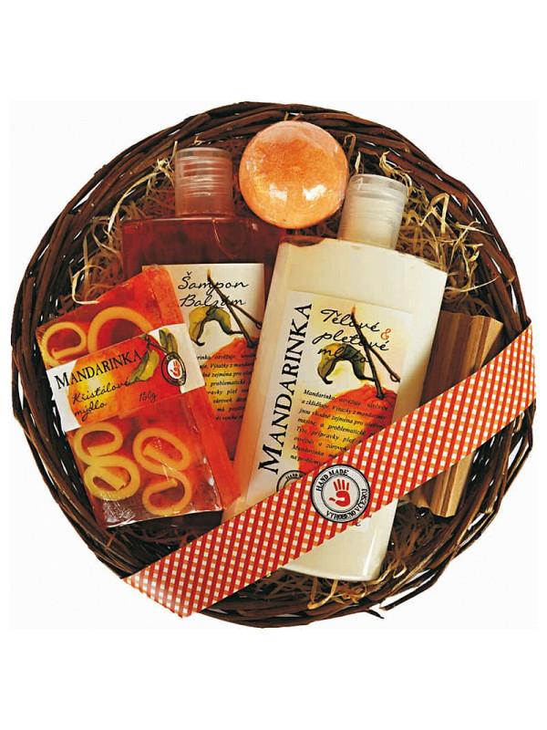 Reklamní dárkové sady - mandarinková