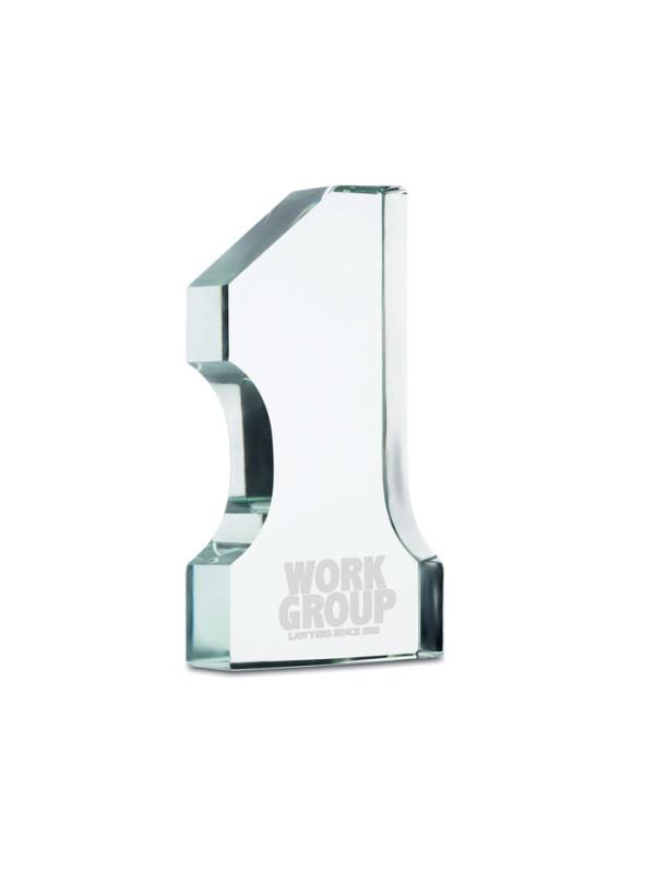 Skleněná trofej SUPER ONE