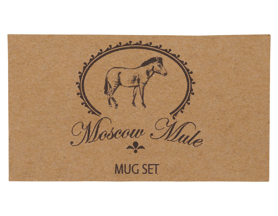 Dárková sada hrnků Moscow Mule