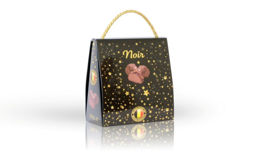 Reklamní lanýže z belgické čokolády