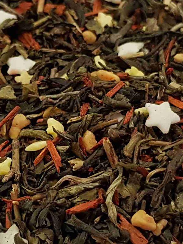 Vánoční čaj: Mandle