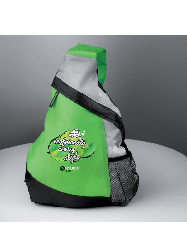 Reklamní batoh na jedno rameno GARY zelený
