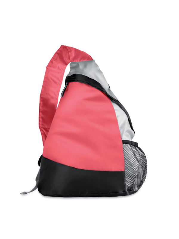 Reklamní batoh na jedno rameno GARY červený