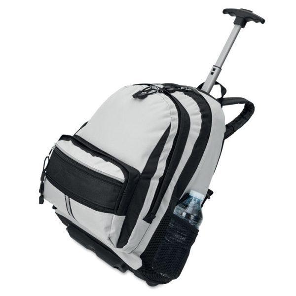 Reklamní batoh na kolečkách CECINA bílá