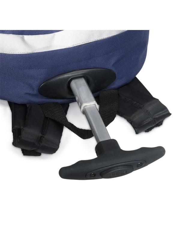 Reklamní batoh na kolečkách CECINA modro bílý