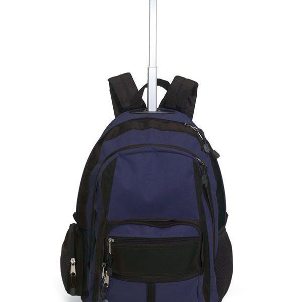 Reklamní batoh na kolečkách CECINA modrý
