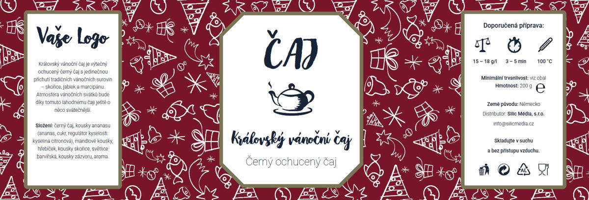 Vánoční čaj: Královský