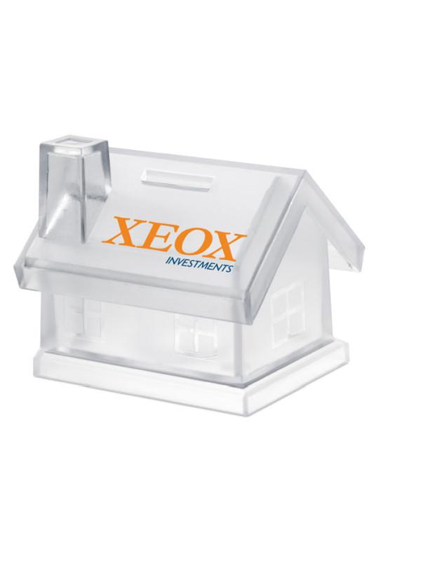 Reklamní plastová pokladnička MYBANK