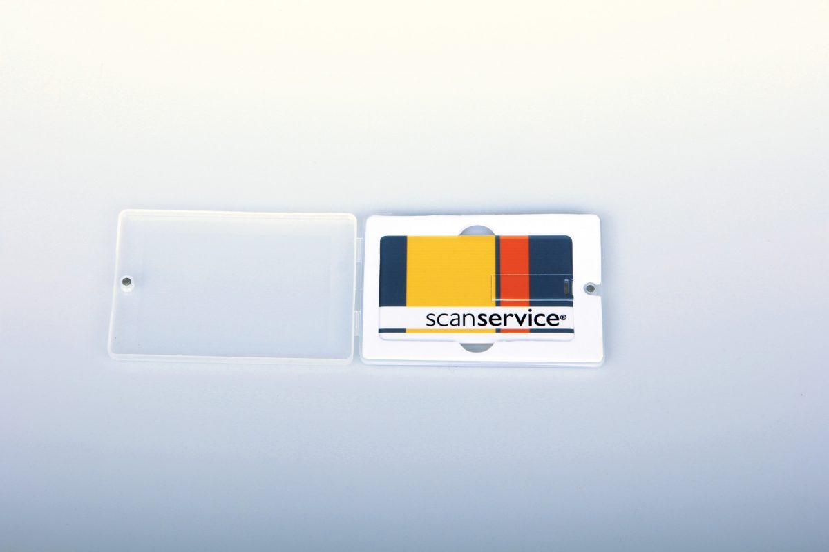 reklamní USB flash disky v kartě