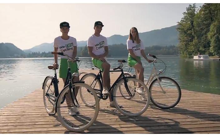 Reklamní trička We Love Cycling
