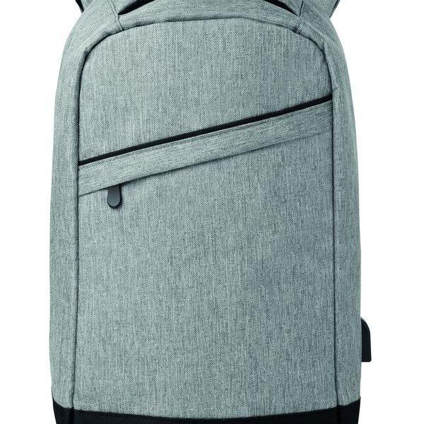 Bezpečnostní batoh BERLIN šedý