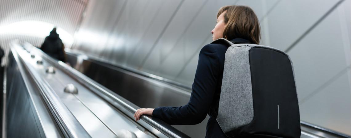 Bezpečnostní batohy s anti-theft ochranou proti krádeži