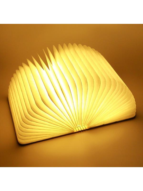 Reklamní svítící LED kniha