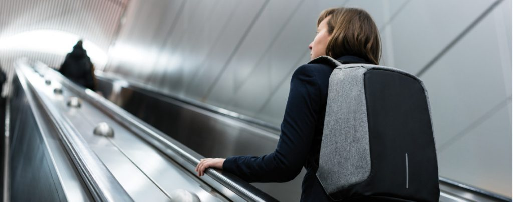 Bezpečnostní batohy s ochranou proti krádeži
