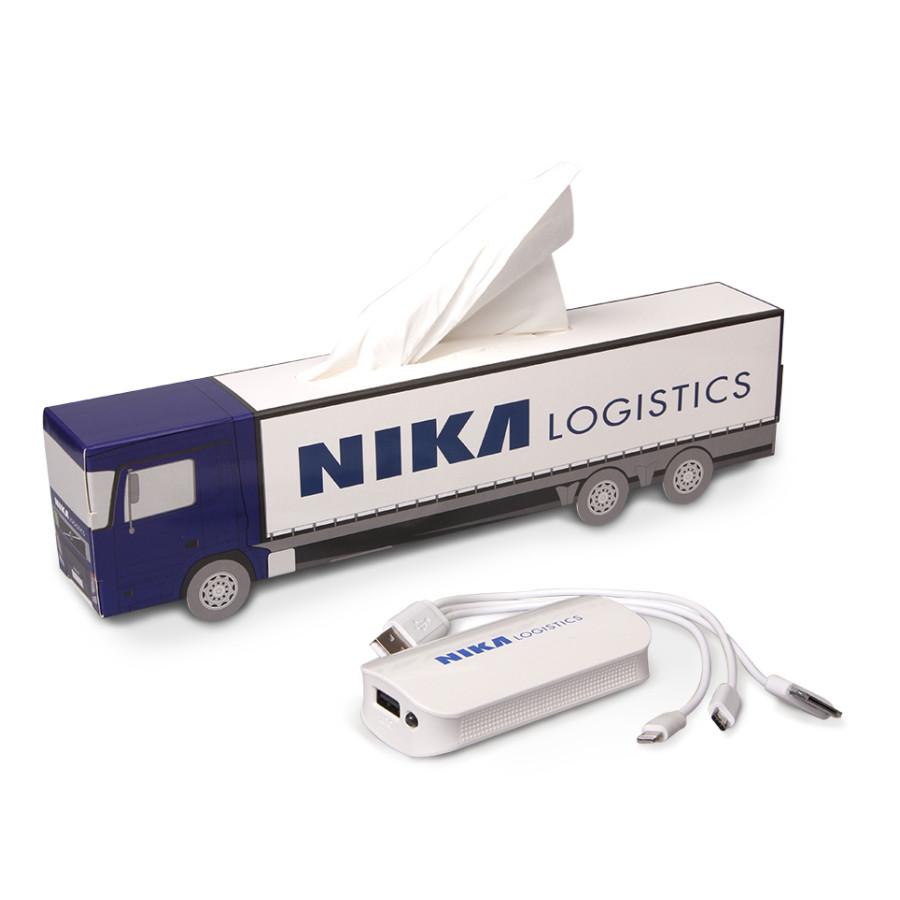 Reklamní předměty NIKA LOGISTICS