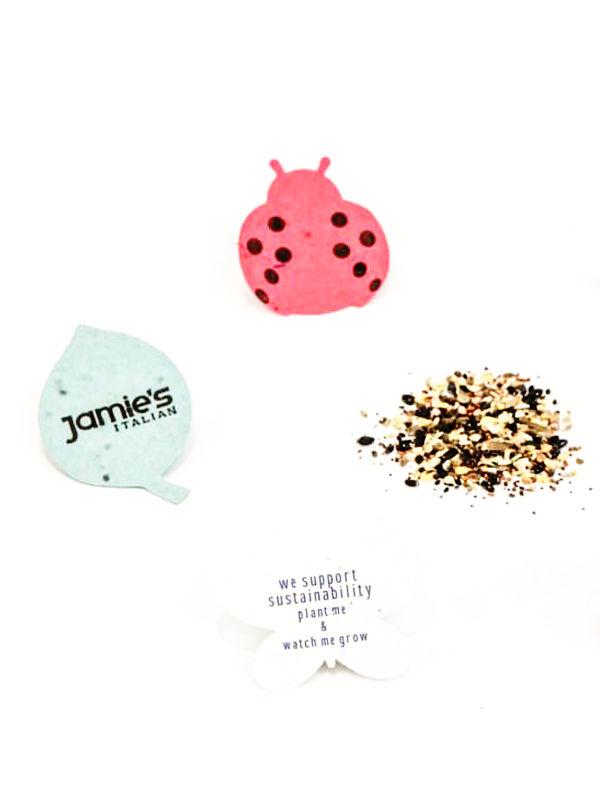 Semínkový papír - reklamní semínka