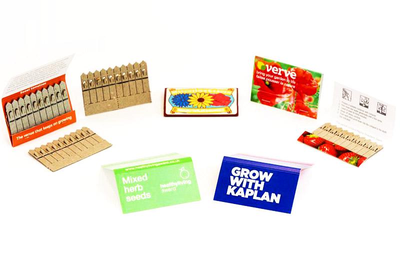 Sirkové balení semínek - reklamní semínka