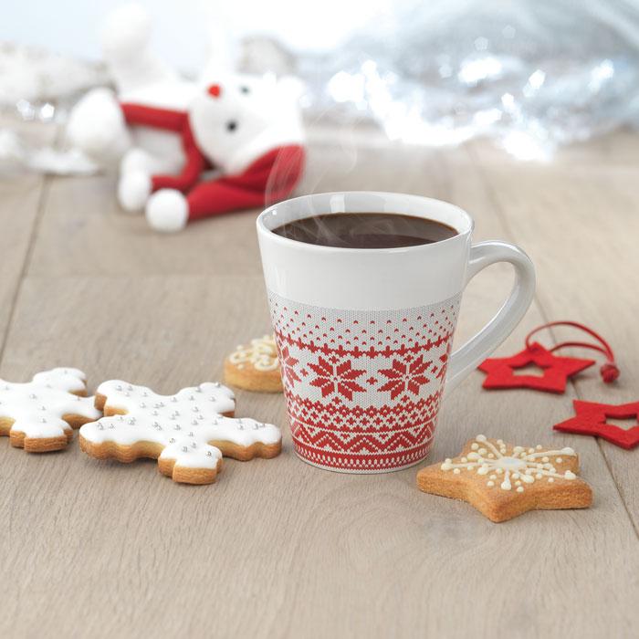 Reklamní hrnek s vánočním motivem