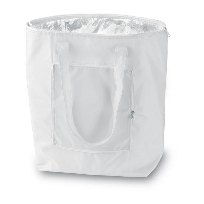 Reklamní chladicí taška skládací Plicool bílá