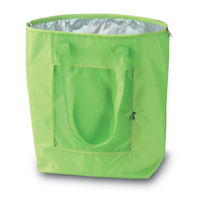 Reklamní chladicí taška skládací Plicool zelená