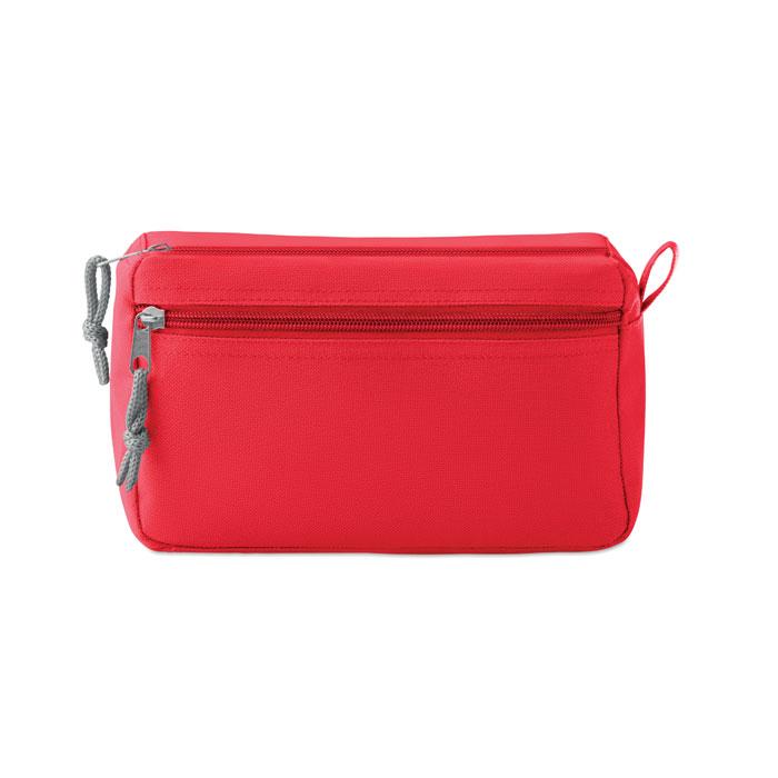 Reklamní kosmetická taštička PVC Smart červená