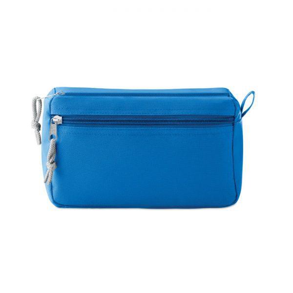 Reklamní kosmetická taštička PVC modrá