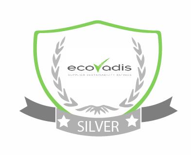 EcoVadis Silver odznak - výběrové řízení