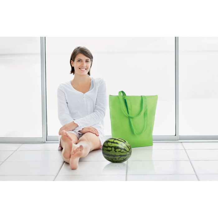 Reklamní chladicí taška skládací Plicool zelená 1
