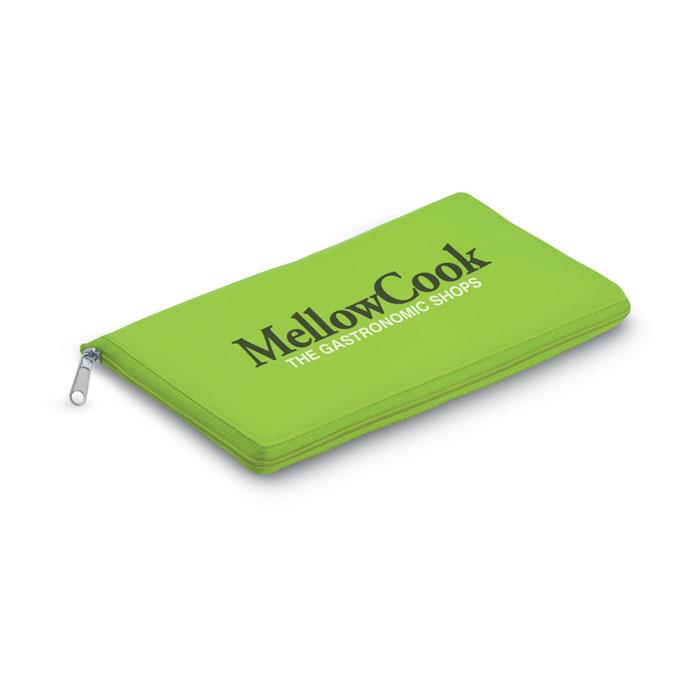 Reklamní chladicí taška skládací Plicool zelená 2