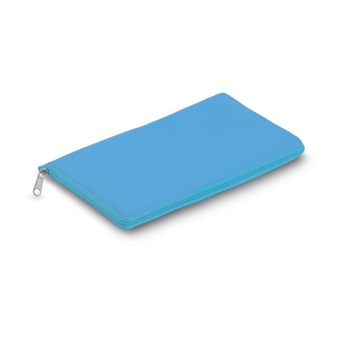 Reklamní chladicí taška skládací Plicool modrá