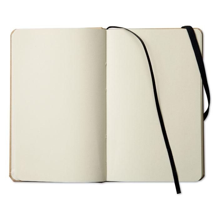 Reklamní zápisník s potiskem EVERNOTE černá gumička 1
