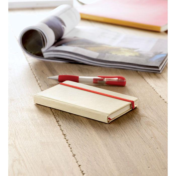Reklamní zápisník s potiskem EVERNOTE recyklovaný