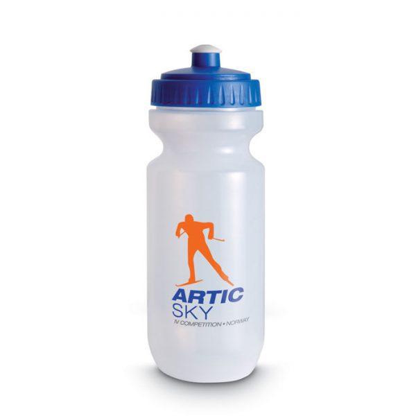 reklamní sportovní láhev SPOT ONE modrá 1