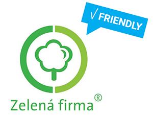 Zelená firma - logo (odpovědnost)