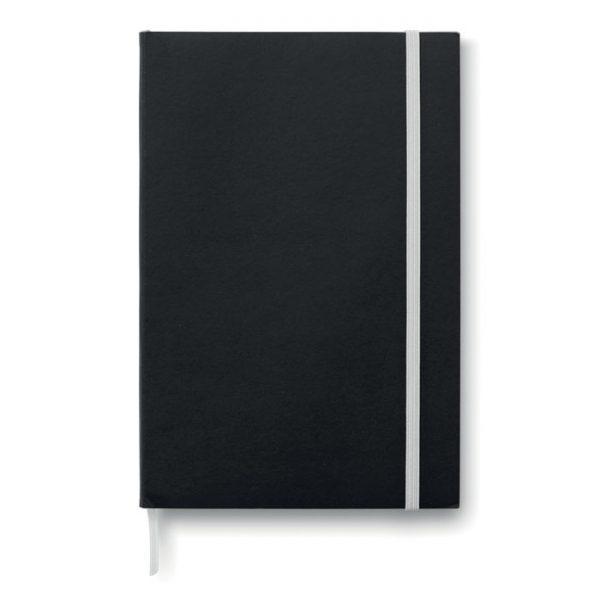Zápisník s papírovými deskami BLACK NOTE