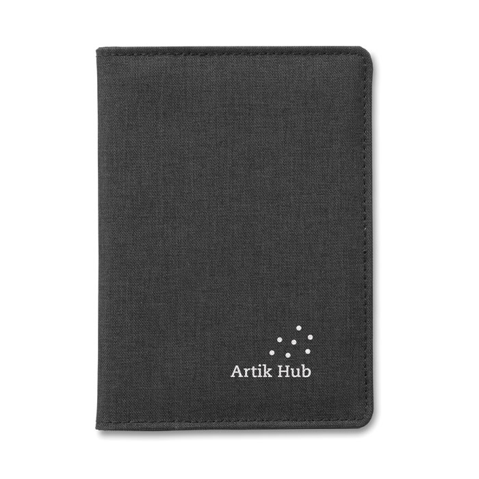 Dvoubarevný obal na pas SHIELDOC