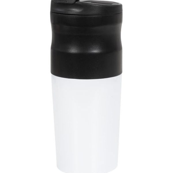 přenosný kávovar s potiskem