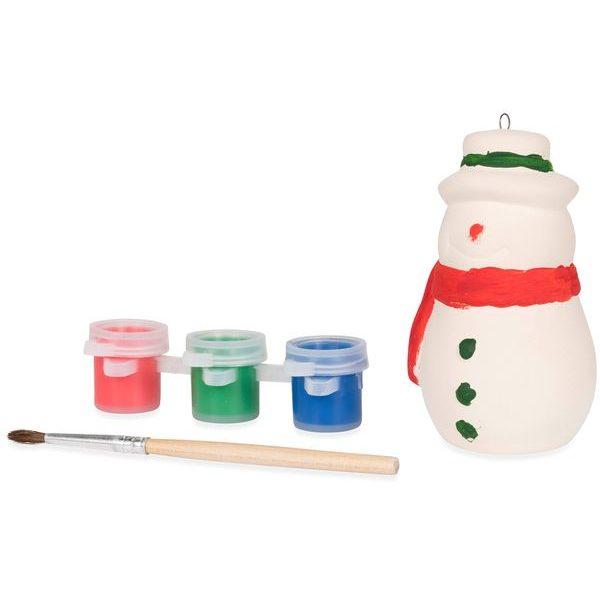vánoční reklamní ozdoba sněhulák 1