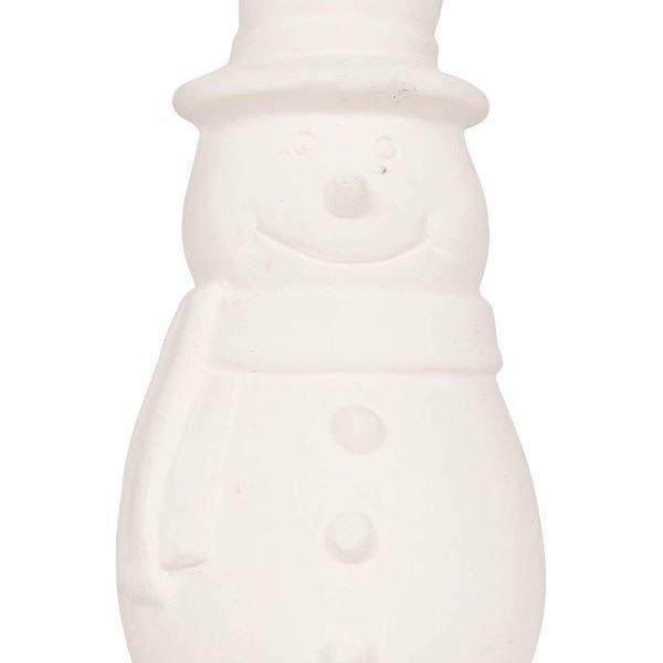 vánoční reklamní ozdoba sněhulák