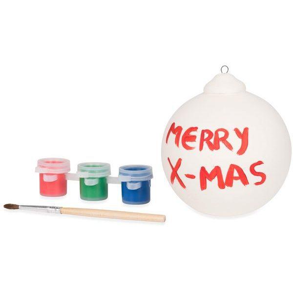 vánoční reklamní ozdoba koule