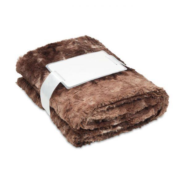 Reklamní deka Andermatt hnědá