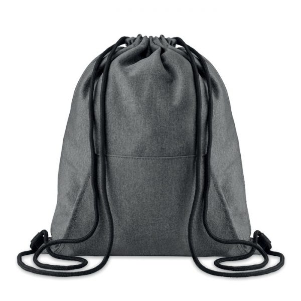 Reklamní fleecový vak tmavě šedý