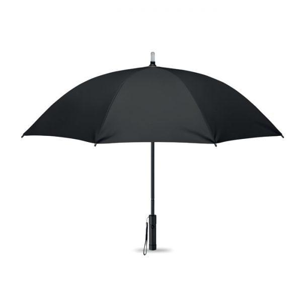 reklamní deštník černý svítící