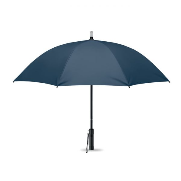 reklamní deštník modrý svítící