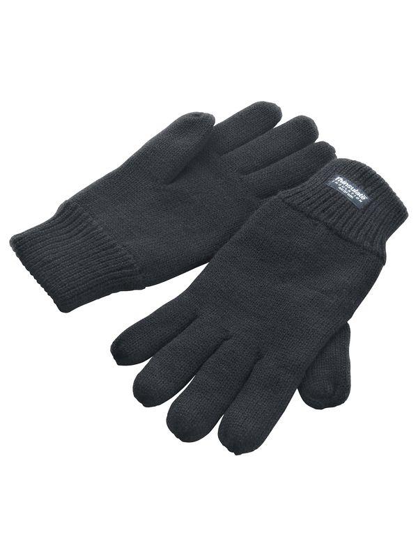 zimní reklamní rukavice šedé