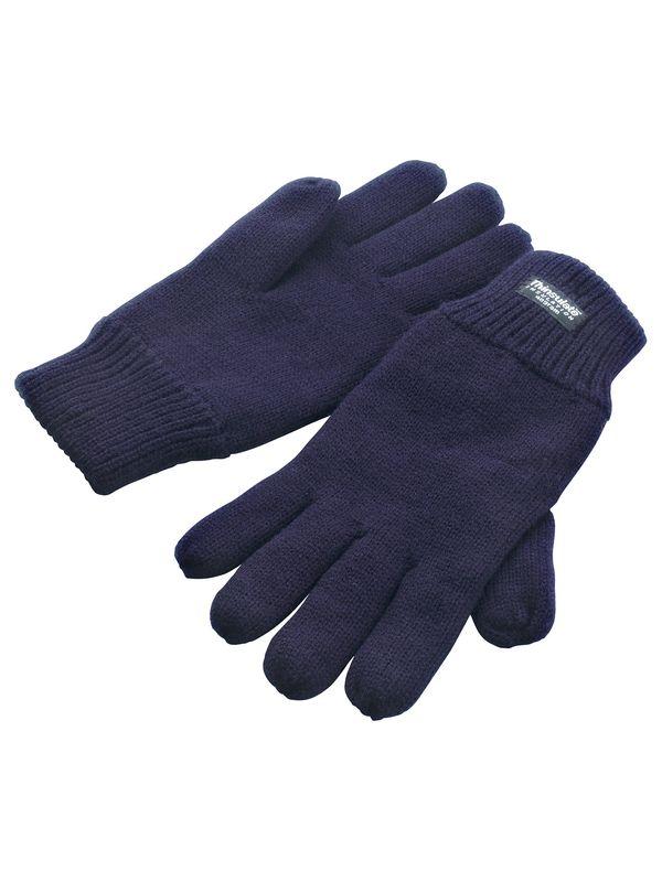 zimní reklamní rukavice modré